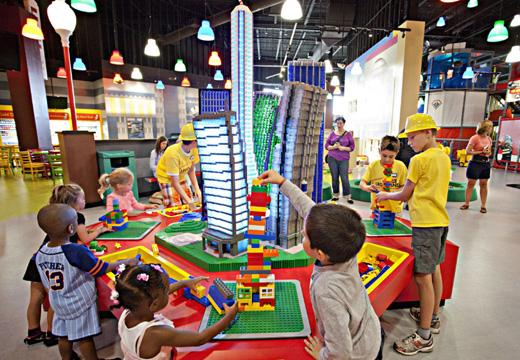 Children playing at Legoland Discovery Centre