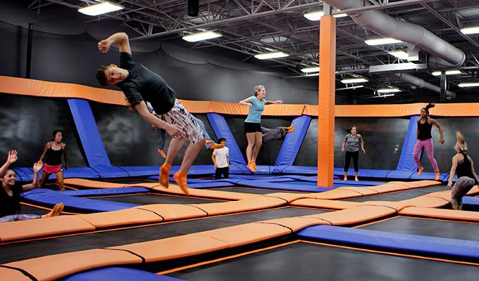 SKy Zone Jumpers