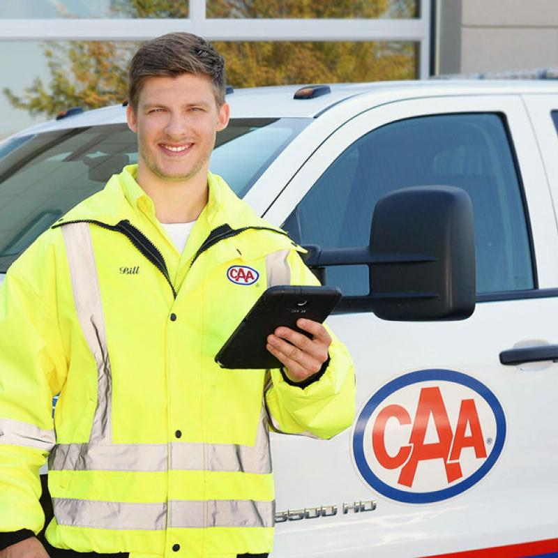 CAA Driver with Tablet