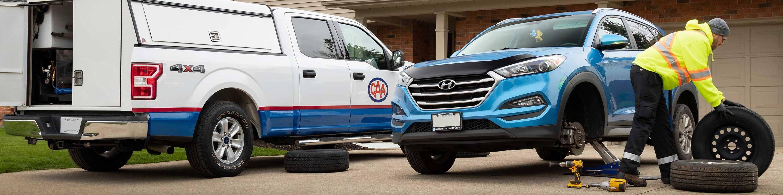 Mobile Tire Service >> Mobile Tire Change Caa Niagara